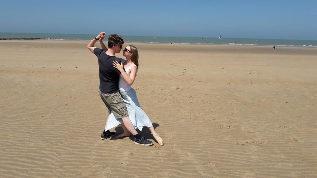 Tango vakantie zee Oostende