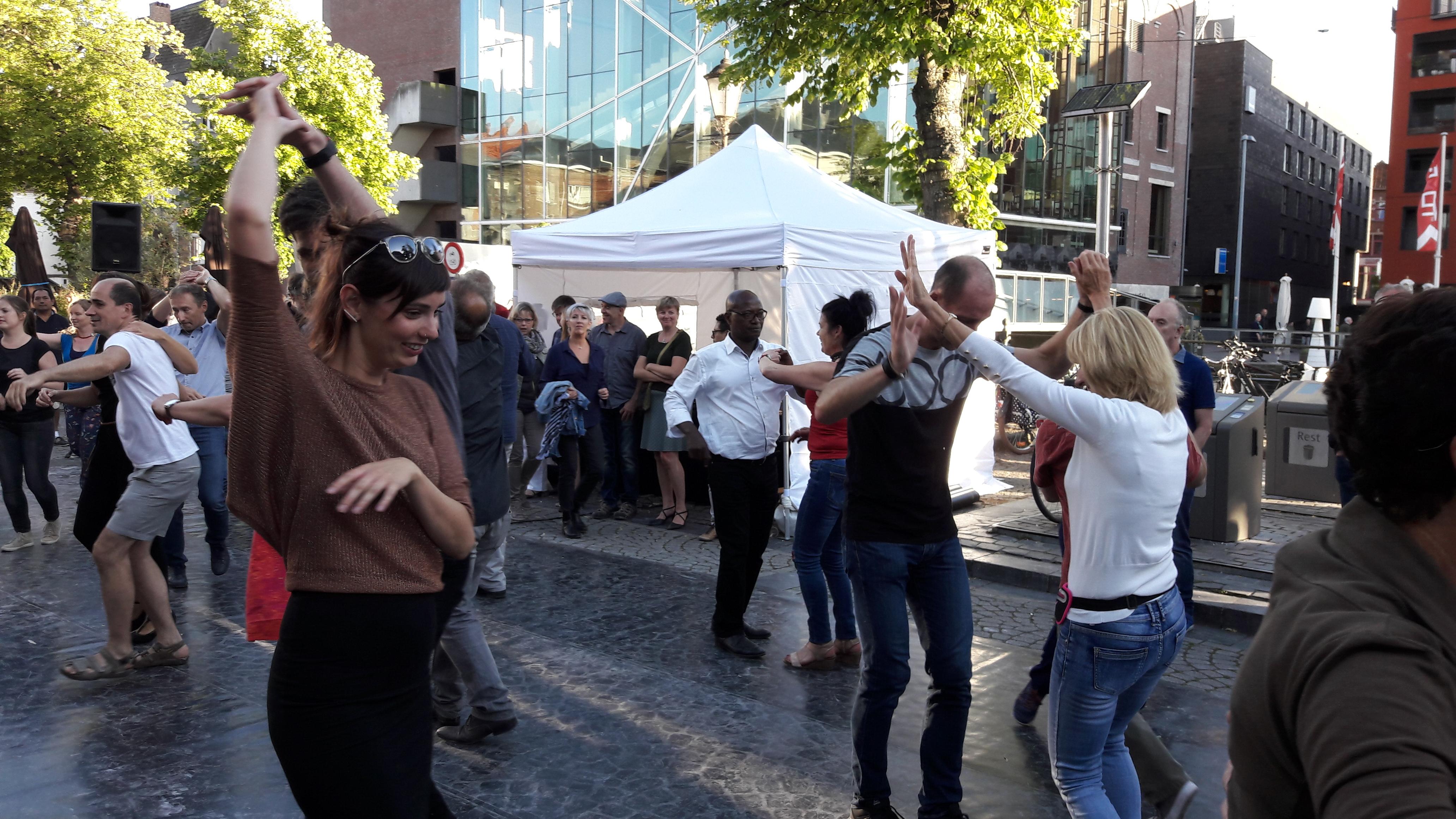 Tango Salsa Vismarkt Mechelen